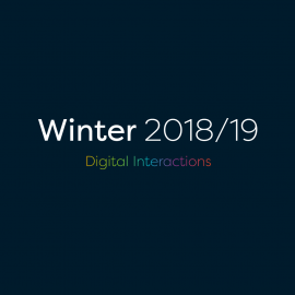 Winter 2018-19 Digital Interactions