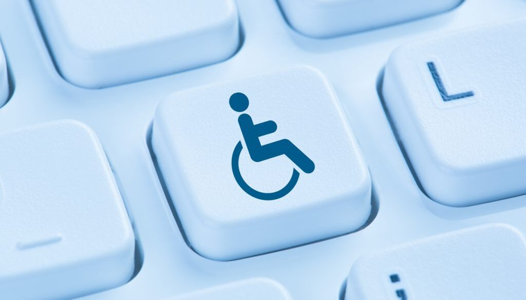 Web accessibility online internet website computer for people with disabilities