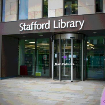 Stafford Library 360° Virtual Tour