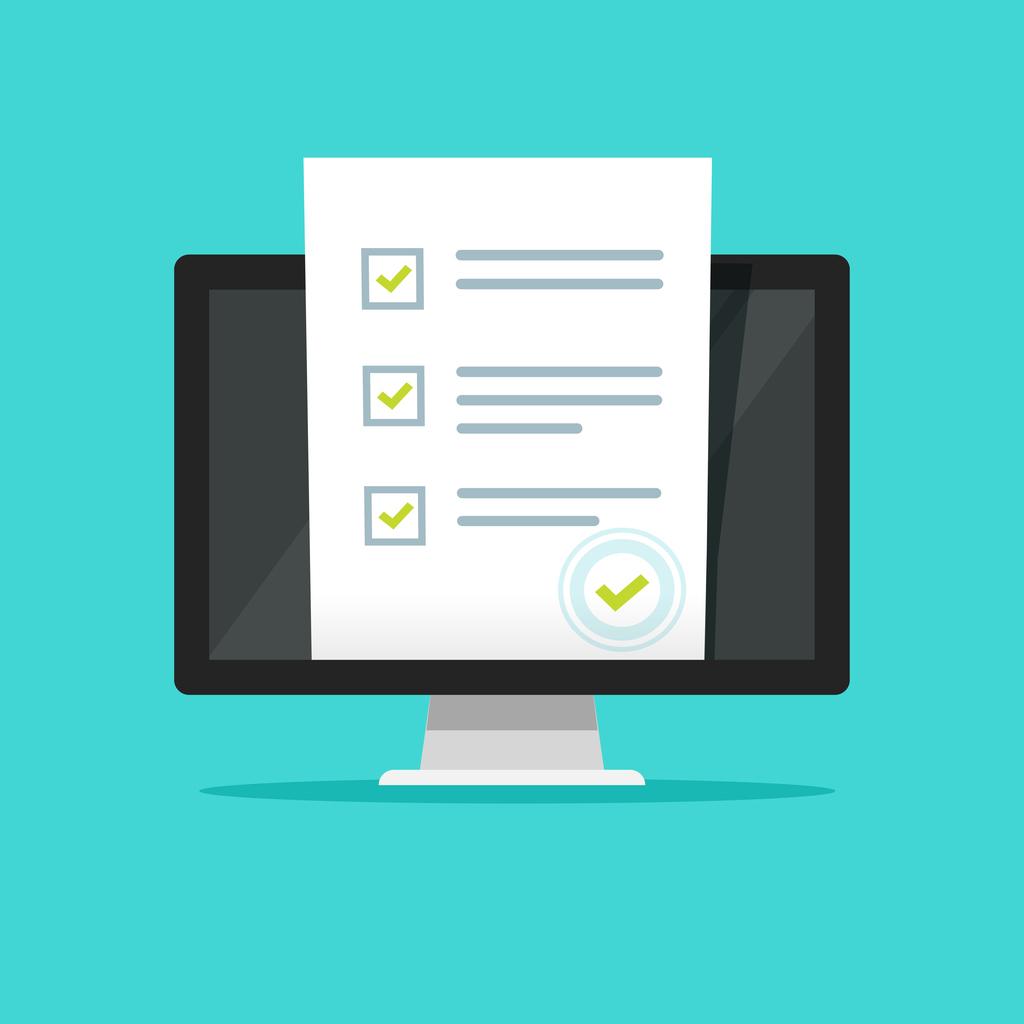 Online form survey