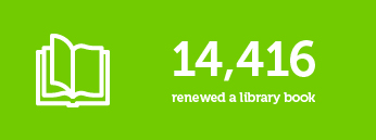 14416 renewed a library book