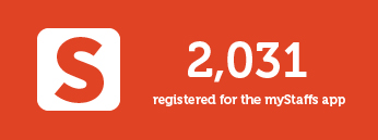 2031 registered for the mystaffs app
