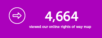 4664 viewed our online rights of way map