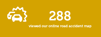 288 viewed our online road accident map