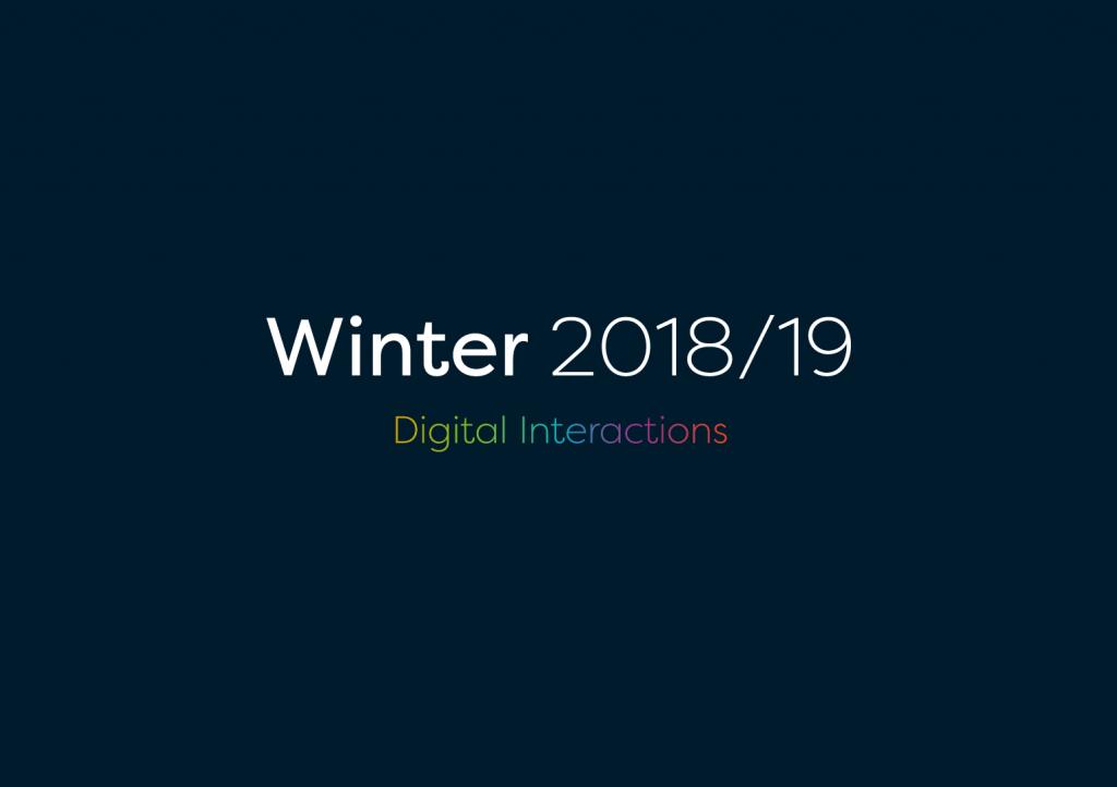 Winter 2018-19 Digital Interactions
