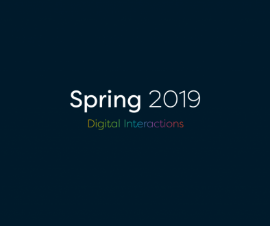 Spring 2019 Digital Interactions