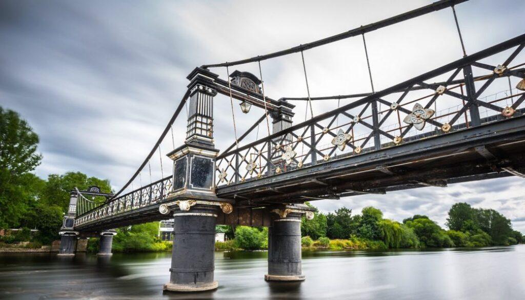 The Ferry Bridge, Burton-on-Trent.