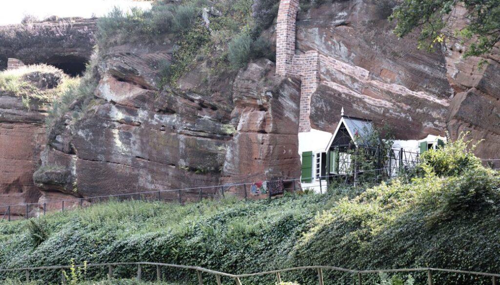 Kinver rock houses.