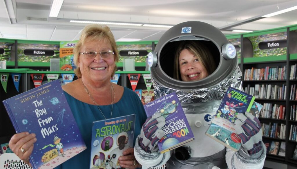 Library summer events, Stafford Library.