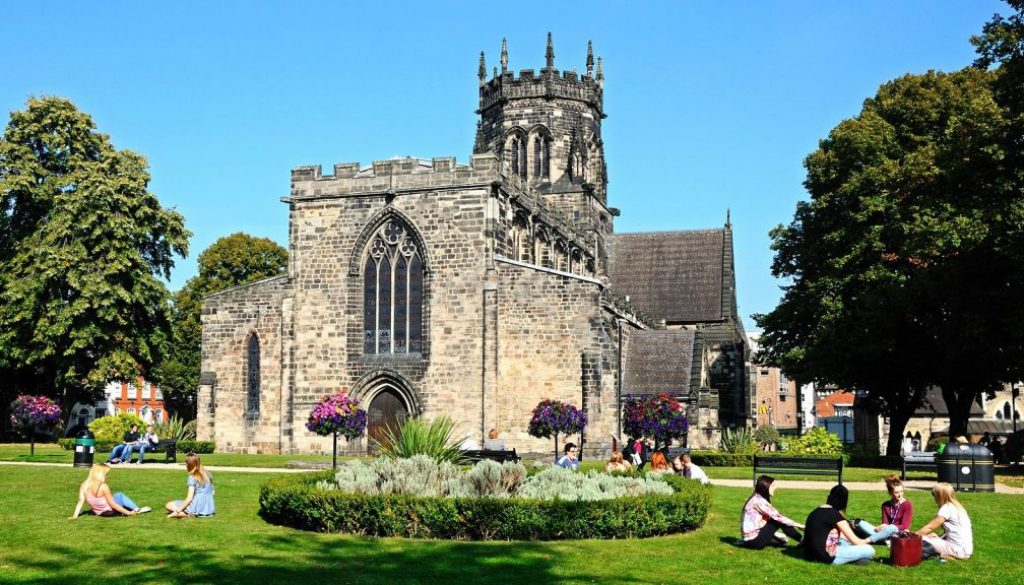 Collegiate Church of St Mary, Stafford.