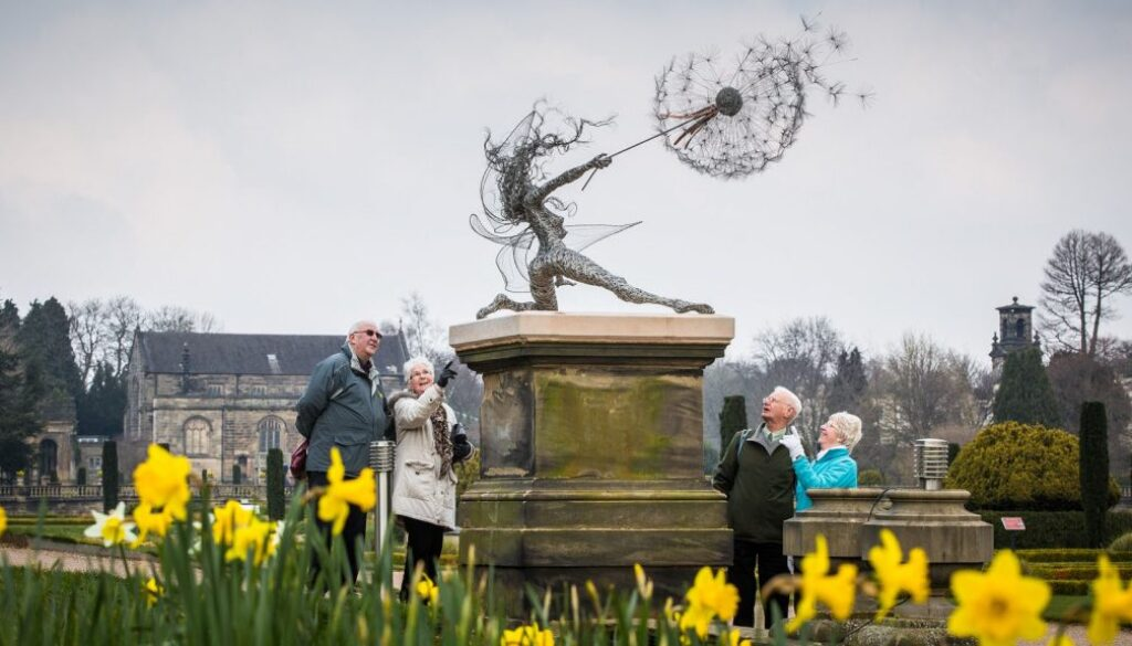 Statue at Trentham Gardens.