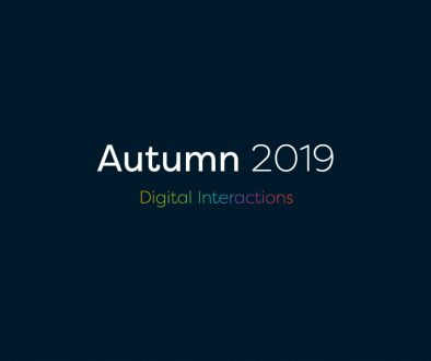 Autumn 2019 digital interactions